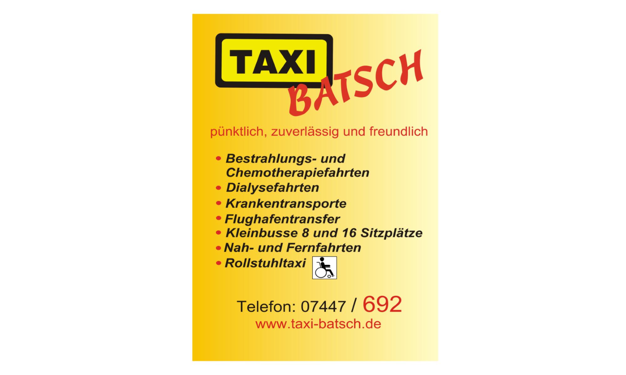 Taxi Batsch